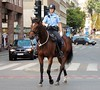 Policewoman on horseback (bokage) Tags: sweden stockholm bokage norrmalm riding horse police woman