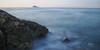 (008/17) En algún lugar de la costa de Benidorm (Pablo Arias) Tags: pabloarias photoshop nxd cielo nubes españa agua mar isla mediterráneo largaexposición finestrat benidorm alicante comunidadvalenciana