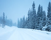 Gördalen II (Gustaf_E) Tags: blue dalarna forest fulufjället gran gördalen landscape landskap morgon nationalpark naturreservat road skog snow snö spruce sverige sweden vinter väg winter woods
