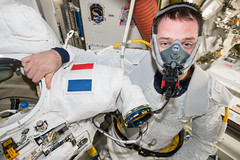 iss050e030791 (NASA Johnson) Tags: eva spacewalk spacesuit tools airlock emu thomas pesquet esa french astronaut