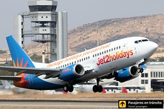 Boeing B737 Jet2 Holidays (Ana & Juan) Tags: airplane airplanes aircraft airport aviation aviones aviación boeing 737 b737 takeoff departure jet2 holidays alicante alc leal spotting spotters spotter planes canon closeup
