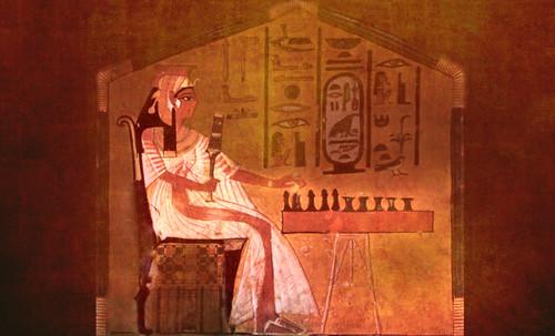 "Senet - Lujoso sistema de objetos lúdicos obsequio del dios Toht a la faraona Nefertari • <a style=""font-size:0.8em;"" href=""http://www.flickr.com/photos/30735181@N00/32369503102/"" target=""_blank"">View on Flickr</a>"