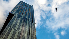 Beetham Tower, Manchester (Ian Betley Photography) Tags: beetham tower manchester teamgb team gb olympics olympic parade uk ian betley photography residential building europe architecture tallest england 17 10 2016 17th october hilton hotel penthouse penthouses luxury apartments helicopter sky height deansgate buildings skyline skyscraper abstract geometric outdoor city lines