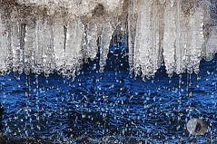 Meltdown.. (firstlookimages.ca) Tags: nature natureportrait water ice icestorm pier winter meltingicicles meltdown art artistic abstractnature artisticmanipulation digitalmanipulation digitalart digitalphotography detail brilliant