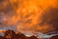 Unbelievable Sky (Riccardo Maria Mantero) Tags: clouds mantero riccardomantero riccardomariamantero sunset india landscape outdoors rainbow sky travel wind