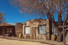 Cutting Tracks (Wayne Stadler Photography) Tags: touristy california fun kitsch stores desert oldwest ghosttowns yuccavalley roadside pioneertown historic usa attractions westewrn towns
