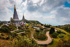 Great Holy Relics Pagoda, Doi Inthanon, Thailand