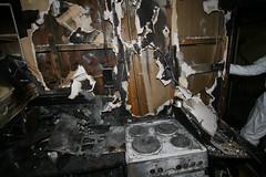 IMG_4310 (oslobrannogredning) Tags: kjøkkenbrann tørrkok tørrkoking komfyrbrann komfyr kjøkken utbrent brann bygningsbrann