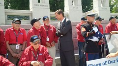 Northern New Mexico Honor Flight at the National World War II Memorial - June 5, 2014