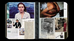 Scrapbook-2 double-page 19 (Esther Martnez Rey) Tags: collage cutout magazine scrapbook paper notebook photography photo glue diary journal moda revistas cine page papier prensa diario carnet cuaderno recortar cahier coller doublepage dcouper