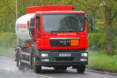 MAN Tanker Butler Fuels DE59 NBB (SR Photos Torksey) Tags: road man truck transport lorry commercial butler vehicle tanker haulage hgv fuels lgv