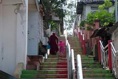 DSCF4883 (ababh) Tags: stairs sumatra indonesia walkway bukittinggi  madderred