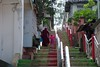terang-benderang (ababhastopographer) Tags: stairs sumatra indonesia walkway bukittinggi 茜色 madderred