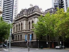 Victoria Law School, Melbourne (Oriolus84) Tags: city building heritage architecture australia melbourne victoria cbd victoriauniversity formerrecordsoffice victorialawschool victorianlawschool cityqueencampus 295queenstreet