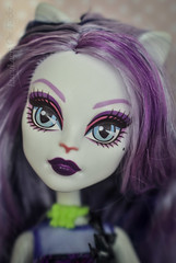 Cheshire Cat is playing with glasses (12) (lucylacri) Tags: monster glasses high lavender catrine demew