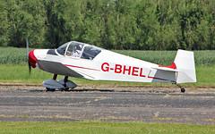 G-BHEL Jodel D.117 (PlanecrazyUK) Tags: fly in sturgate 070615 jodeld117 egcv gbhel