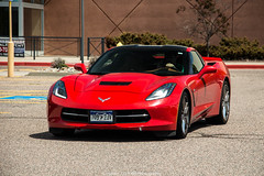 Red (Hunter J. G. Frim Photography) Tags: chevrolet colorado stingray chevy american corvette supercar v8 c7 chevroletcorvettec7stingray