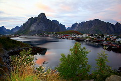 Pearl of 3 billion (mark.paradox) Tags: sea mountain water norway landscape island scenery view lofoten reine    moskenes  3000v120f abigfave    thelookgold pearlofnorway