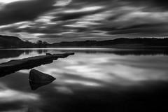 Shifting Sky (Euan Ross (circa35mm)) Tags: longexposure sun seascape reflection water landscape scotland loch lochlomond stirlingshire aberfoyle lochard trossachsnationalpark