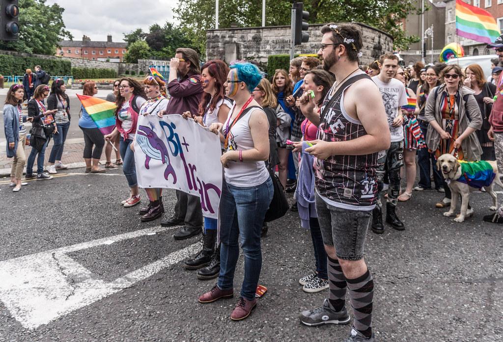 DUBLIN 2015 LGBTQ PRIDE PARADE [WERE YOU THERE] REF-106002