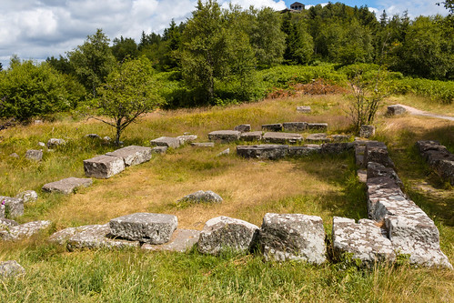 Vestiges d'un temple gallo-romain