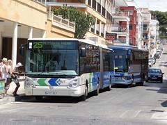 EMT Palma 257 (Coco the Jerzee Busman) Tags: bus mercedes volvo coach spain mallorca palma emt arenal majorca tib citaro irisbis