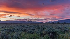 Antelope Flats sunrise (kellyandjaffe) Tags: sunrise us unitedstates jackson sage wyoming grandtetonnp grandtetonnationalpark gtnp antelopeflats jeffclowphototours mygtnp