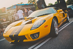 Ford GT (crashmattb) Tags: atlanta georgia august co carshow lightroom 2015 18135mm caffeineandoctane canon70d canonefs18135mmf3556isstm automeetup