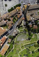FIESOLE DUOMO E TEATRO ROMANO_ 367 (opaxir) Tags: archaeology aerial tuscany toscana fiesole taly archeologia
