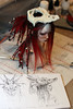WIP - Dragon skull helmet for Ydriss (Mamzelle Follow) Tags: elfdolleuna eunha helmet dragon skull bjdprop abjd doll wip ydriss