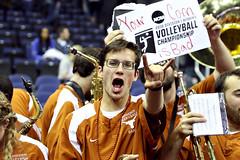 NCAA Semifinal - Texas vs. Nebraska (thedailytexan) Tags: texas texaslonghorns texasvolleyball volleyball longhorns nebraska huskers sports sportsphotography nationwide arena nationwidearena columbus ohio columbusohio espn