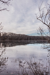Holbrook Pond, Hebron, CT (billandkent) Tags: billcannon connecticut hebron hebronconnecticut holbrookpond us usa unitedstates billandkent 2016 pond ice