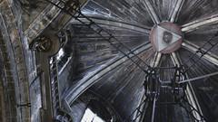 L'oeil de Santiago (Les routes sans fin(s)) Tags: santiagodecompostela camino cathedral oeil eye eglise church plafond hauteur