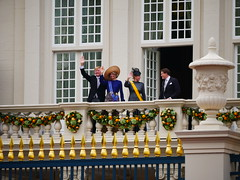 Dutch royal family (edwardlich) Tags: willem alexander royal oranje orange balcony prinsjesdag maxima king queen princes prince palace