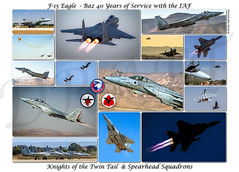 """The F-15 Eagle """"Baz"""" 40 Years of Service with the IAF The gatekeepers protecting the state of Israel. (xnir) Tags: f15 eagle baz mcdonnelldouglas boeing knightsofthetwintail spearhead nir xnir nirbenyosef"""