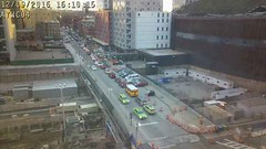 Barclays Center Arena - 20161209_1610 (atlanticyardswebcam04) Tags: barclayscenterarena atlanticavenue atlanticyards forestcityratner prospectheights brooklyn newyork 6thavenue