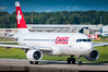 """GVA.2014 # LX A320 HB-IJL """"Nyon"""" awp (CHR / AeroWorldpictures Team) Tags: swiss air lines airbus a320214 cn 603 engines 2x cfmi cfm565b4p aircraft name nyon reg hbijl history 30may1996 first flight with test fwwbk toulouse tls france 12jul1996 delivered swissair sr swr config cabin cy150 31mar2012 tsfd lx cy168 a320 a320200 taxiways twy planespotting geneva genève cointrin gva lsgg switzerland ch europe nikon d300s zoomlenses nikkor 70300vr raw lightroom lr"""