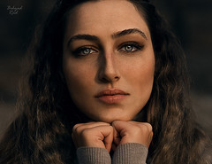 Sepid (behzad.rad) Tags: blue eye portrait cool retouching beautyretouch photoshop iraniangirl persiangirl عکاسانایرانی مدل ایرانی دختر بهزاد راد editorial photo edit instacool bestoftheday filmmaker sepide behzadrad beauty sexy sensual curly hair beautiful