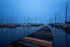Nort Alabama Sailing Club (joegilbreath) Tags: marina boats dock guntersville alabama sailing fog mist