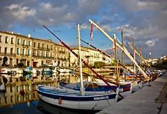 Sète (Marc ALMECIJA) Tags: port harbor harbour sète hérault bateau boat clouds nuages ciel skye