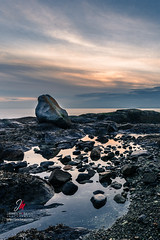 Chinese Cemetery, Victoria, BC. 2017 (James McBean Photography) Tags: shoreline landscape sunset seashore nature water outdoor sea cloudporn ocean bluehour britishcolumbia shore seascape vancouverisland victoriabc cloudscape clouds