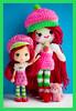 strawberry💘 (sugarelf) Tags: strawberryshortcake crochet amigurumi doll character crochetbyme cute yarn ragdoll plush craft
