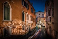 Late night traffic in Venice