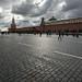 Dunkle Wolken über Moskau