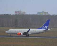SE-RJR - Boeing 737-76N (Digi-Joerg) Tags: internationalerverkehrsflughafen berlintegel txl sas boeing737 ersterflug18022004 heimatflughafenstockholmarlanda se sweden