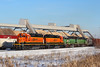 First Stop (view2share) Tags: bnsf1990 bnsf bnsfrailway burlingtonnorthernsantafe sd402 emd electromotivedivision engine grandrapidslocal lakessub lakessubdivision bnsflakessub deansauvola january162017 january2017 january 2017 snow snowfall cold winter afternoon railway rr railroading railroad railroads rails railroaders rail rring roadtrip freight freighttrain freightcars track transportation tracks trains transport trackage train trees mn minnesota yard chips mill papermill stockpile switch switching switches cloquet