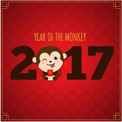 free vector Happy Chinese New Year 2017 With Monkey Background (cgvector) Tags: 2017 animal art background banner bird card celebration character chicken chinese concept coupon cover design discount drawing ethnicity fashion gold graphic greeting happy holiday horoscope illustration market new offer poster price red rooster sale shopping sign special sticker style symbol template traditional trendy tribal vector web year zodiac newyear happynewyear winter party chinesenewyear wallpaper color event happyholidays china winterbackground