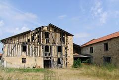 Francon 31420. Pans de bois. (sergeimbert) Tags: francon31420 hautegaronne colombages fermes ruines