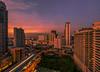 skytrain2 (kerrimisu) Tags: bangkok skytrain hotelvie sunsetting travel