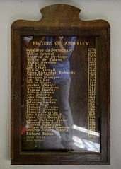 032-20160813_Abberley Norman Church-Worcestershire-list of Rectors of Abberley Norman Church (Nick Kaye) Tags: abberley worcestershire england church